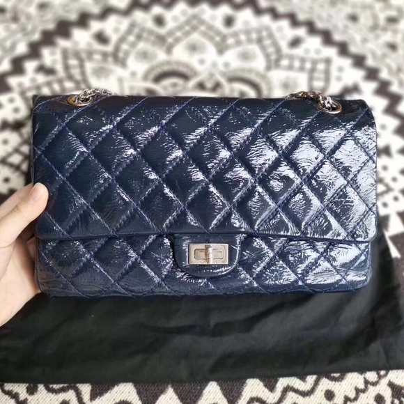 fb03053eb95310 CHANEL Bags | Authentic 255 Reissue Patent Double Flap | Poshmark
